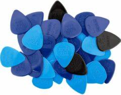 Ernie Ball 9133 Mixed Nylon plectrums (50 stuks)