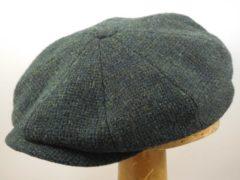 Stetson Hatteras 'Peaky Blinders' ruige tweed groen maat 57
