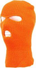Hylon Bivakmuts Oranje - 3 gaats - Skiën - Motor - Balaclava