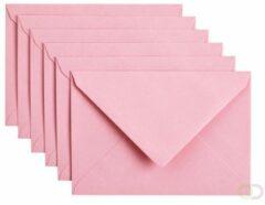 Papicolor Envelop C6 babyroze 105gr-CV 6 st 302959 - 114x162 mm