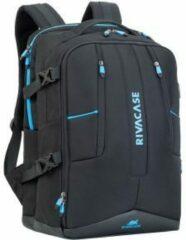 Blauwe Riva Case RivaCase 7860 - Laptop Gaming Rugzak - 17.3 Inch - Extra vak voor 10.1 Inch tablet - Zwart