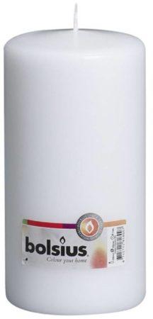 Afbeelding van Bolsius Stompkaars 200/100mm Wit Stompkaarsen