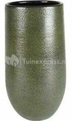 Donkergroene Ter Steege Hoge pot Zembla groen bloempot binnen 18 cm