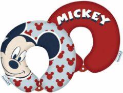 Arditex Nekkussen Minnie Mouse 28 X 6 Cm Foam Rood/wit