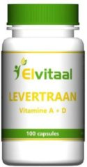 How2behealthy Elvitaal Levertraan 100 cap