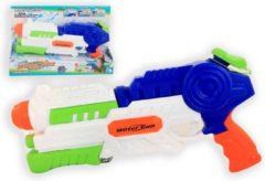 Jonotoys Waterpistool Met Pomp 42 Cm Jongens Wit/blauw