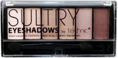 Technic Oogschaduw Palette Sultry - Bruine Tinten