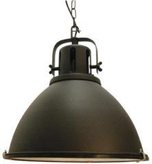 CentralLight Hanglamp industrieel zwart Jesper XL E27 fitting 480mm / 48cm