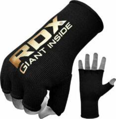 Rode RDX Sports RDX Hosiery Inner Strap - Binnenhandschoenen met polsband - Zwart/Geel - Maat: M