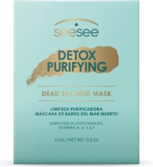 Creme witte SeeSeeLab SeeSee Lab Vegan Detox Purifying Mud Masker