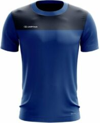 Jartazi T-shirt Bari Junior Polyester Donkerblauw Mt 146-152