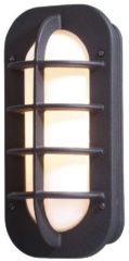 Konstsmide Loke 513-752 Buitenlamp (wand) Energielabel: Afhankelijk van de lamp Spaarlamp, LED E27 60 W Zwart