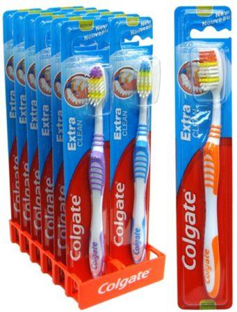 Afbeelding van 12x Colgate Extra Clean tandenborstel