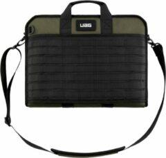 Urban Armor Gear Tactical Slim Brief Tas 13-inch Laptops/Tablet Groen