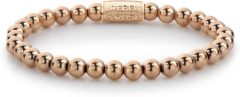 Rebel & Rose Rebel and Rose RR-60040-R Rekarmband Beads Rose Only rosekleurig 6 mm S 16,5 cm
