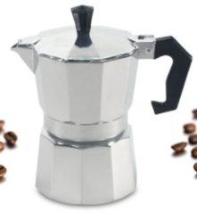 Alu Espressokocher 3 Tassen Krüger Alu