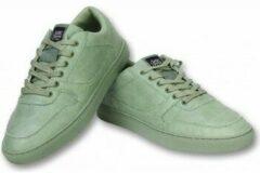 Sixth June Heren Schoenen - Heren Sneaker Seed Essential - Olijfgroen - Maten: 44