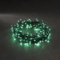Konstsmide 3627-940 Micro-lichtketting Buiten werkt op het lichtnet 40 Groen Verlichte lengte: 2.73 m