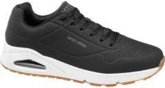 Witte Skechers Uno Stand On Air Heren Sneakers - Zwart - Maat 41
