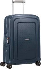 Marineblauwe Samsonite Reiskoffer - S'Cure Spinner 55/20 (Handbagage) Navy Blue Stripes