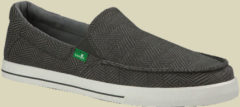 Sanuk Sideline Checked Sneakers Men Herren Textil-Sneakers Größe UK 9 charcoal checked
