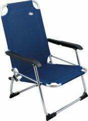 Donkerblauwe Redwood Bronte Laag - Strandstoel opvouwbaar - Blauw