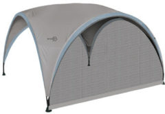 Zwarte Bo-Camp Bo-Garden Zijwand Party Shelter - Large - Muskietengaas - Grijs
