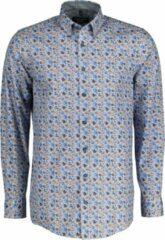 Casa Moda Overhemd - Regular Fit - Blauw - 6XL Grote Maten