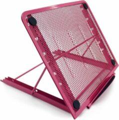 Opline Laptop Stand bureau Ondersteuning Verstelbare Laptop Standaard voor Pad Tablet Notebook - roze