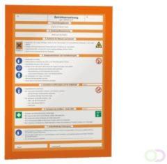 ESVSHOP.nl DURABLE magneetlijsten MAGAFRAME, zelfklevend (sticker), DIN A4, 2 stuks/VE magneetfolie
