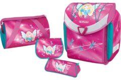 Herlitz Flexi Plus Fairy Mädchen Polyester Mehrfarben Schulranzen-Set 50007653