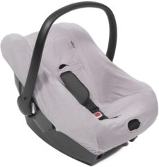 Grijze QUAX - CARSEATCOVER GROUP 0 - SOFT GREY
