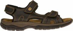 Rohde Heren Sandaal 5950-71 Bruin - Maat 45