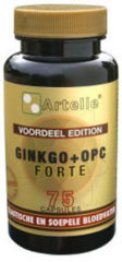 Artelle Ginkgo + OPC Forte Capsules 75 st *