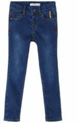 Blauwe Name It! Meisjes Lange Broek - Maat 74 - Denim - Jeans