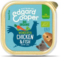 Edgard-Cooper Edgard&Cooper Kuipje Bio Chicken Fish Puppy - Hondenvoer - Kip Vis Wortel 100 g Biologisch