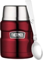 Rode Thermos King voedselcontainer - 0,45 L - rood