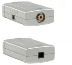 Goobay AVW 3 Coax Toslink Zwart, Wit kabeladapter/verloopstukje