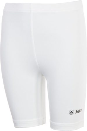 Afbeelding van Witte Jako Tight Basic 2.0 Sportbroek - Maat 140 - Unisex - wit