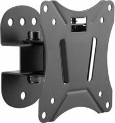 Zwarte SpeaKa Professional SP-6012040 Monitor-wandbeugel 1-voudig 33,0 cm (13) - 68,6 cm (27) Kantelbaar, Zwenkbaar