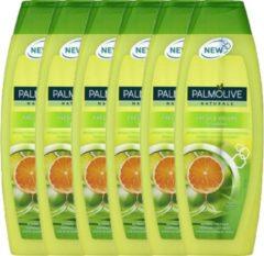 Palmolive Naturals Shampoo Fresh & Volume - 6 x 350ml - voordeelverpakking