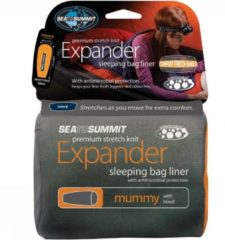 Sea To Summit Expander Liner Mummy Hooded Lakenzak Marineblauw