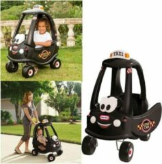 Zwarte Little Tikes Cozy Coupe Taxi - Loopauto
