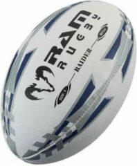 RAM Rugtby Raider Match rugbybal - Wedstrijdbal - 3D grip - Maat 4 - Blauw