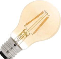 Bailey dag/nacht sensorlamp LED filament 4W (vervangt 30W) grote fitting E27 goud