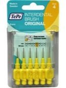 Tepe Original Ragers - Interdentale Borstels 0.7mm Geel