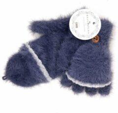 Winter TRANSFORMER-OPENVINGER CARESS Handschoenen van BellaBelga - blauw