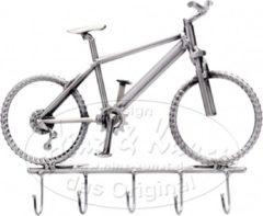 Grijze Hinz & Kunst kapstok fiets mountainbike thema vervoer