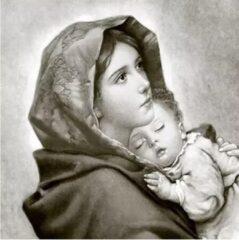 Sagen Vintage Design, Madonna met kind