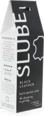 Slube – Massage en Glijmiddel Black Leather – klein verpakking